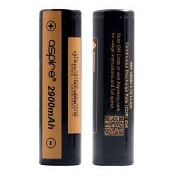 ASPIRE - Battery 18650 2900 mAh