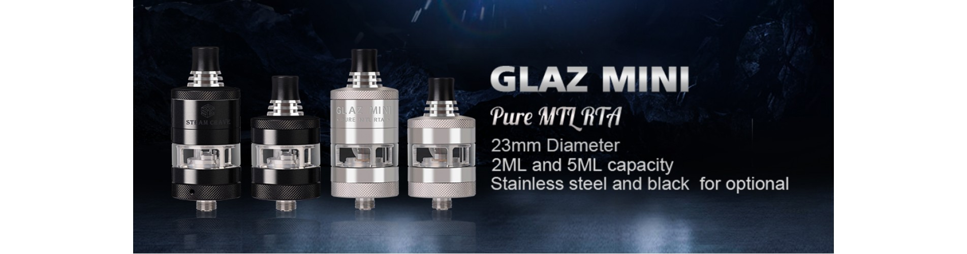 STEAM CRAVE - Glaz Mini MTL RTA
