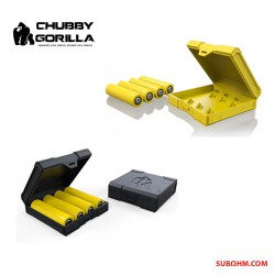 CHUBBY GORILLA - Battery Case 18650 Quad (Black)